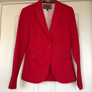 Used Ambiance Size Medium Candy Apple Red Blazer